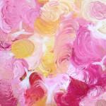Engleleg i rosenbed