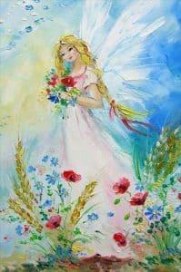 Blomsterenglen Isabella