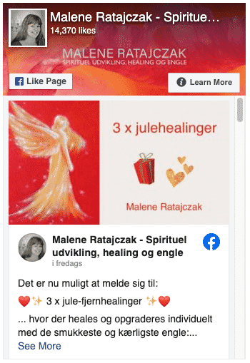Malene Ratajczak facebook side